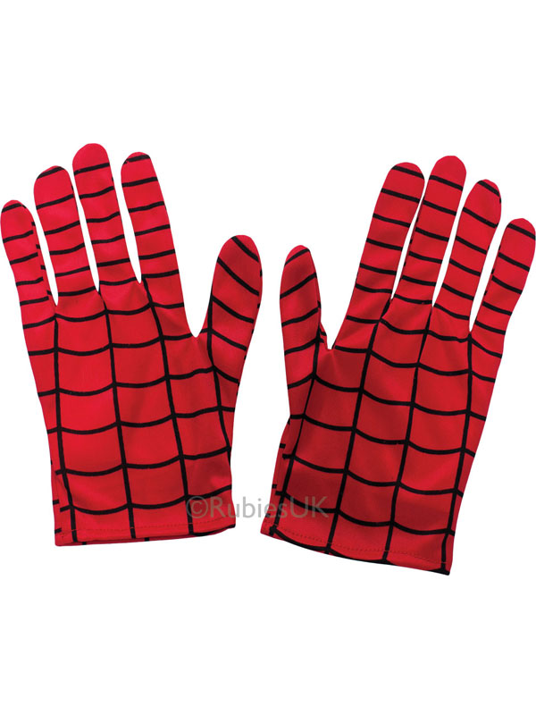 Child Boys Spiderman Gloves