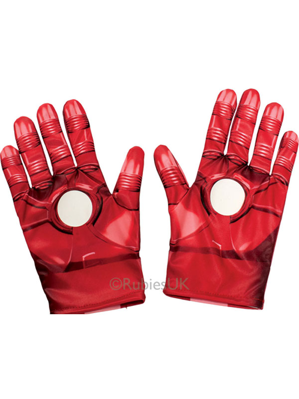 Child Boys Iron Man Gloves