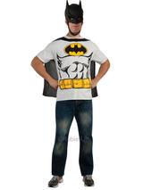 Batman T Shirt Cape & Mask