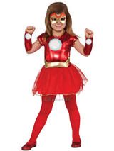 "Child Iron ""Rescue"" Tutu Dress Costume"