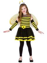 Child Girls Bumblebee Costume