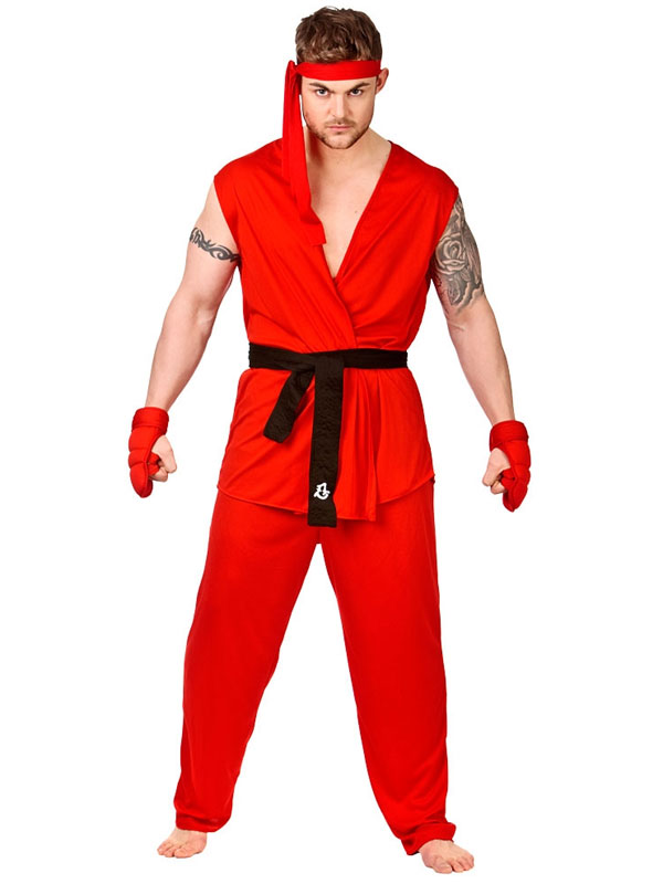 Martial Arts Fighter Costume
