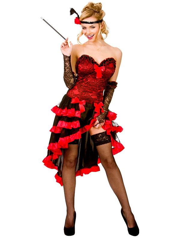 Wild West Showgirl Costume