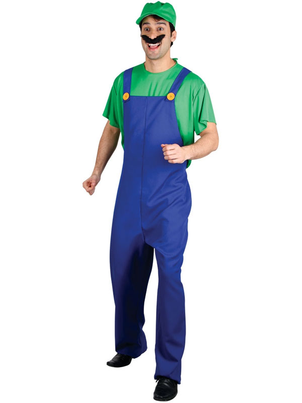 Funny Plumber Costume Green