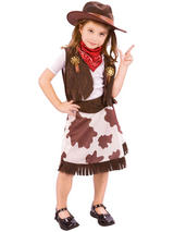 Child Cowgirl Toddler Costume
