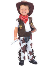 Child Cowboy Toddler Costume