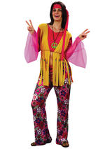Hippy Woman Budget Costume