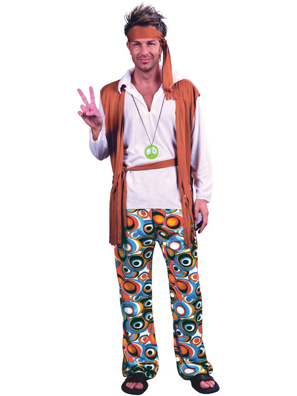 Hippy Man Budget Costume