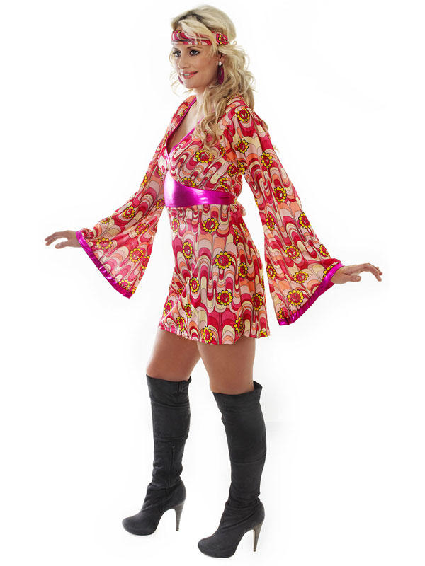Flower Power Dress Costume Thumbnail 3
