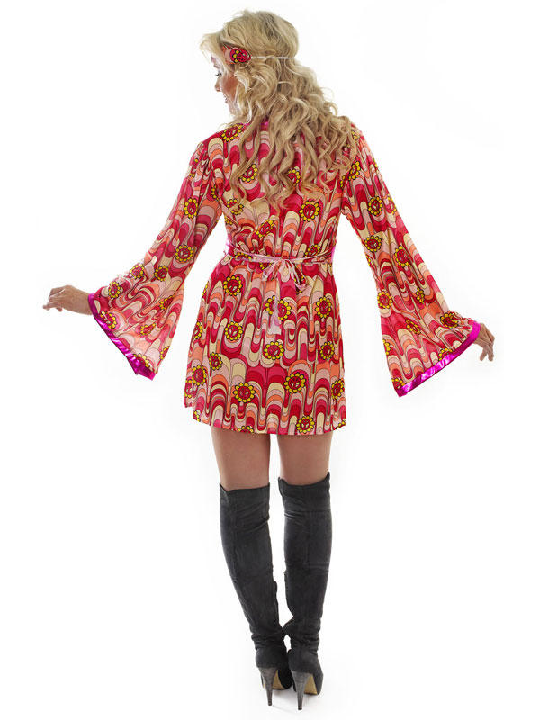 Flower Power Dress Costume Thumbnail 2