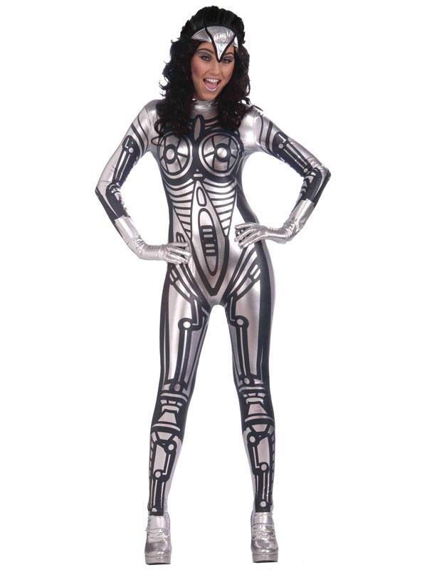 Robot Jumpsuit Female Costume
