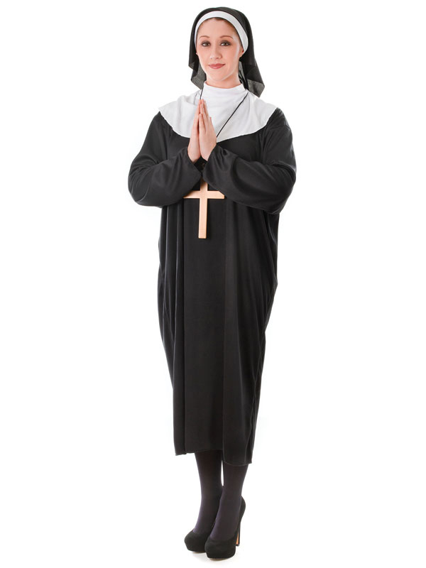 Nun Plus Size Costume