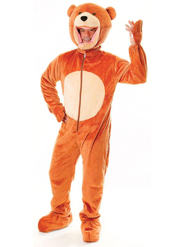 Teddy Bear Big Head Costume