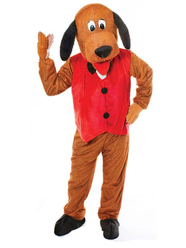 Dog With Waistcoat Big Head Costume
