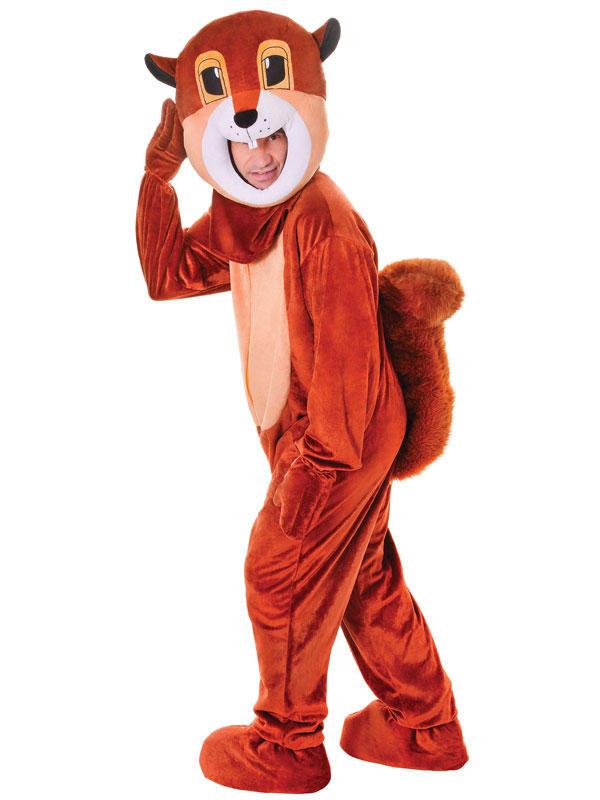 Squirrel Big Head Costume