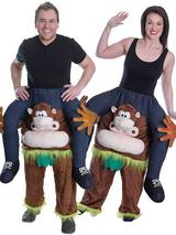 Piggy Back Monkey Costume