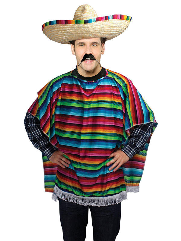 Mexican Poncho Budget Costume