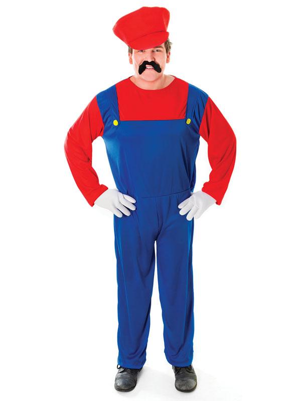 Plumbers Mate. Red Costume