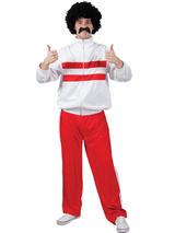 Funny Athlete Trackie Costume