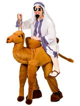 Giant Ride-On Camel Mascot Costume