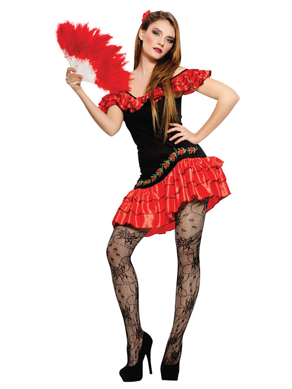 Sexy Spanish Lady Costume