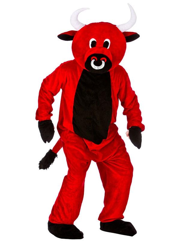 Red Bull Mascot Costume