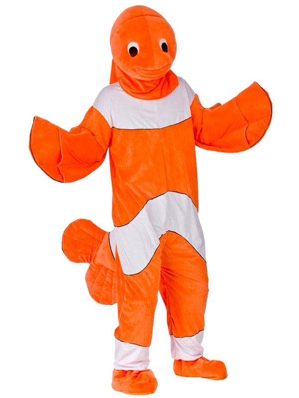 Clown Fish Mascot Costume