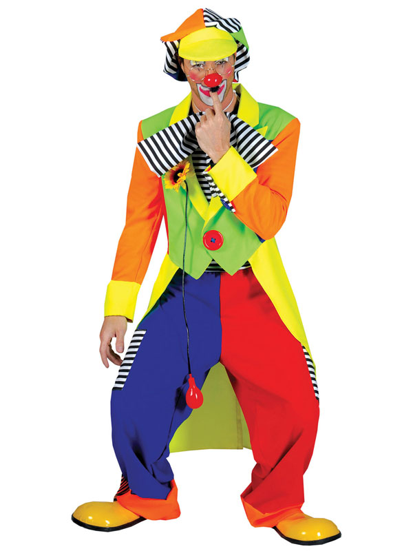 Clown Coat + Trousers Costume