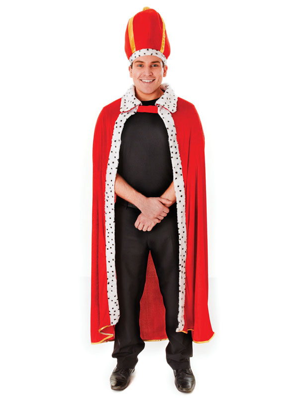 King's Robe + Hat Costume