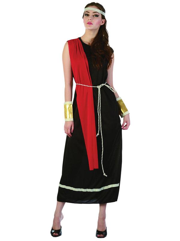 Goddess Black Toga Costume