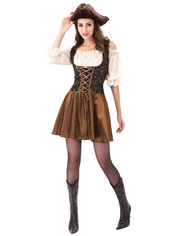 Pirate Gold Rose Costume