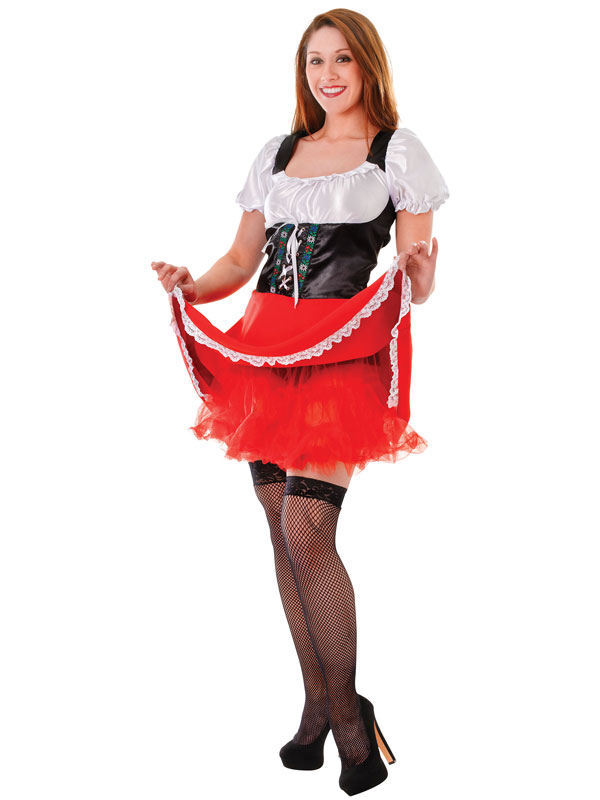 Adult Underskirt Red