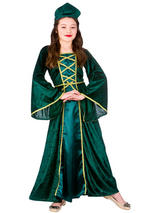 Child Medieval Tudor Princess Costume