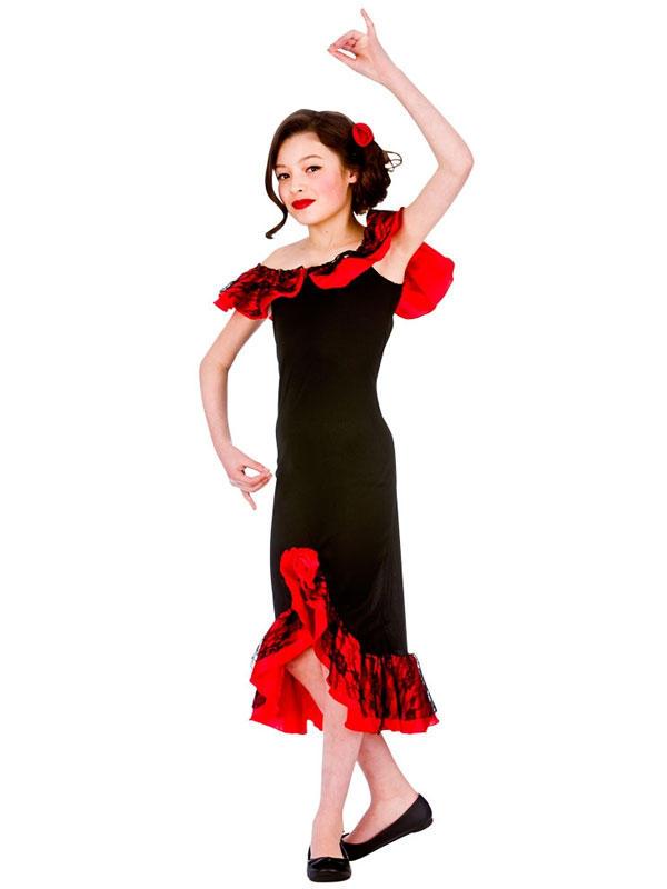 Child Spanish Senorita Costume