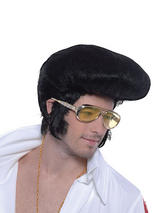 Adult Mens Elvis Deluxe,Highquiff Wig