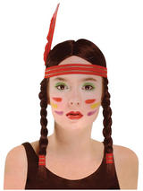 Adult Ladies Indian Squaw Wig
