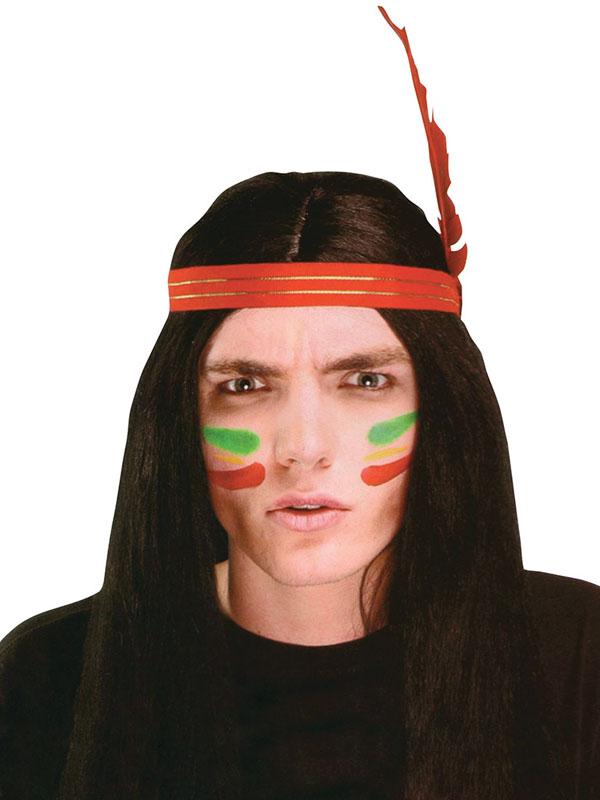 Adult Mens Indian Man Wig