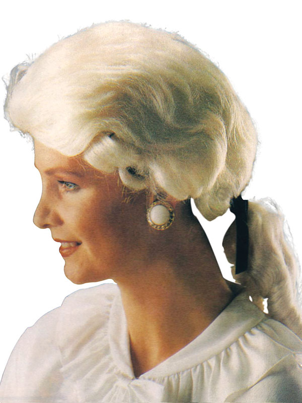 Adult Mens Gent'S Court White Best Wig