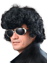 Adult Mens Elvis High Quiff Budget Wig