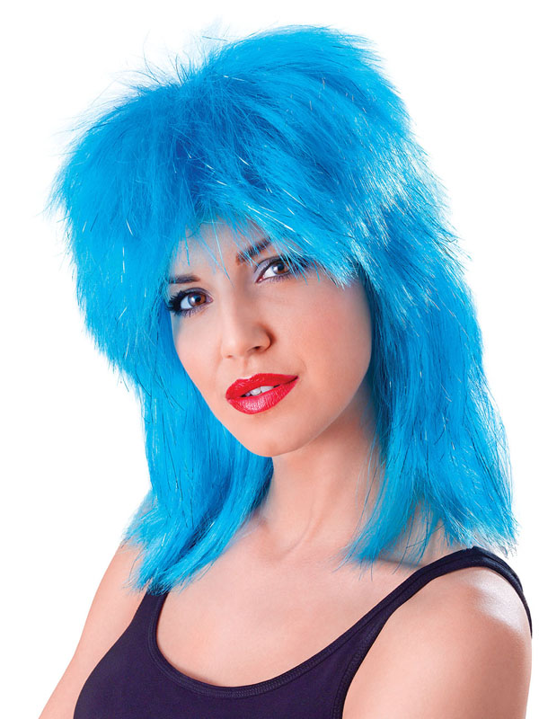 Adult Ladies Tina Wig Aqua