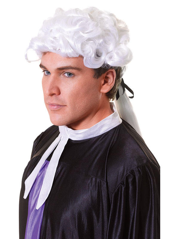 Adult Court Unisex Budget Wig
