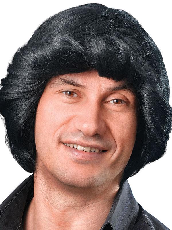 Adult Mens Tony Wig Black Wig