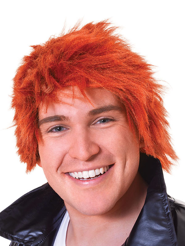 Adult Mens Chisel Ginger Wig