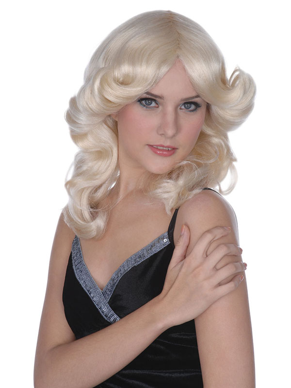 Adult Ladies Madonna Style Blonde Wig