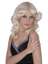 Adult Ladies Madonna Style Blonde Wig