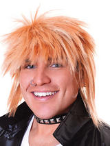 Spikey Male Blonde Wig