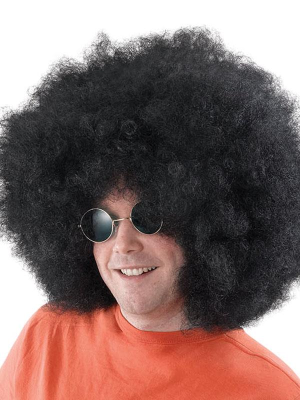 Adult Afro Mega Black Wig