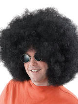 Adult Afro Mega Black Wig