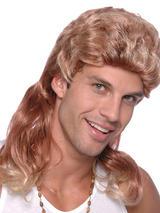 Adult Mens Mullet Tone Budget Wig