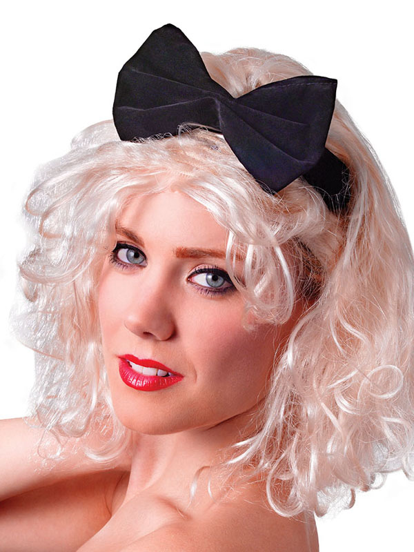 Sentinel Ladies 80s Material Girl Madonna Blonde Wig Pop Star Fancy Dress Accessory New  sc 1 st  eBay & Ladies 80s Material Girl Madonna Blonde Wig Pop Star Fancy Dress ...